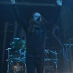 In Flames Tryckt Backdrop
