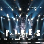 The Hives Tryckt Backdrop